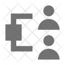 Business Networking Process Icon