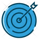 Business Traget Growth Icon