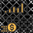 Business Analysis Statistics Icon