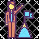 Business Achievement Icon