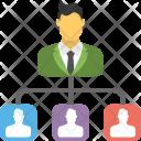 Task Delegation Management Icon
