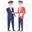 Business Agreement Business Handshake Business Deal Icon
