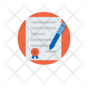 Contract Business Agreement Deed Icon