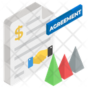 Business Agreement Contract Bargain File Icon