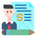 Business Man File Icon