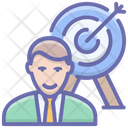 Business Aim Business Goal Business Objective Icon
