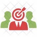 Business Aim Business Goal Target Icon