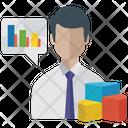 Business Analysis Pie Chart Online Analysis Icon
