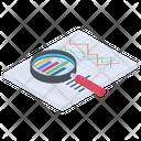 Business Analysis Data Analysis Data Representation Icon