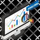 Business Analysis Data Analysis Infographic Icon