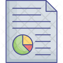 Business Analysis Business Report Financial Report Icon