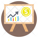 Business Analysis Financial Icon