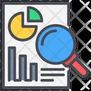 Analysis Data Market Icon