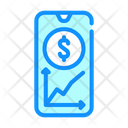 Financial Market Monitoring Icon