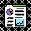 Analytics Report Color Icon