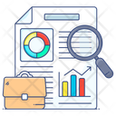 Business Assessment Business Analysis Business Evaluation Icon