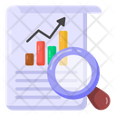 Data Analysis Business Analysis Business Search Icon