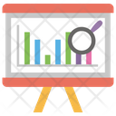 Business Analysis Financial Analysis Graphical Representation Icon