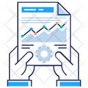 Business Analysis Report Icon