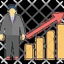Business Analyst Data Analyst Data Scientist Icon