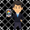 Analyst Analyzer Accountant Icon