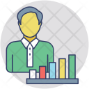 Business Analyst Data Icon