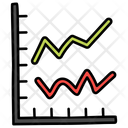 Financial Report Stats Analysis Business Report Icon