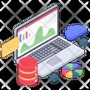Business Analytics Online Statistics Business Infographic Icon