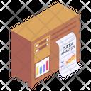 Statistics Business Report Business Analytics Icon