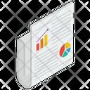 Business Analytics Report Icon