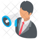 Business Promotion Marketing Business Announcement Icon