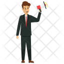 Marketing Manager Announcement Icon
