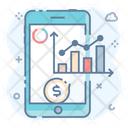 Business App Mobile App Mobile Infographic Icon