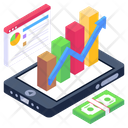 Business Data Business App Data Analytics Icon