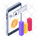 Financial App Business App Mobile Analytics Icon