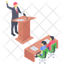 Business Auction Icon