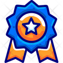 Certificate Quality Medal Icon