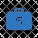 Briefcase Bag Dollar Icon