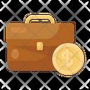 Business Bag Money Bag Portfolio Icon