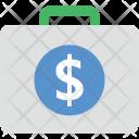 Briefcase Business Bag Icon