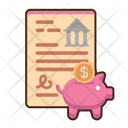 Business Bank Account Business Account Accounting Icon