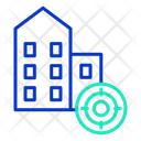 Business Building Target Icon