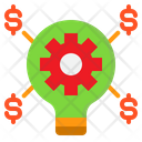 Business Bulb Icon