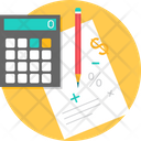Business Calculation Calculating Icon