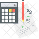 Business Calculation Accounting Business Analytics Icon