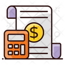 Business Calculation Business Calculations Accounting File Icon