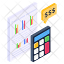 Budget Accounting Business Calculation Accounting Icon