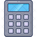 Mathematics Calculator Finances Icon
