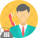 Business Calling Work Icon