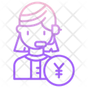 Business Call Operator Icon